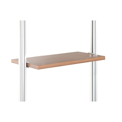 Relax Small Narrow Shelf Walnut 550 x 330mm