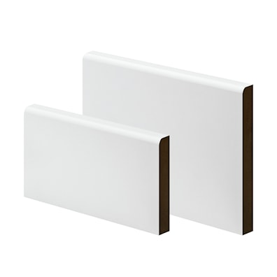 MDF Primed Bullnose Round Architrave/Skirting 18 x 69 x 4200mm