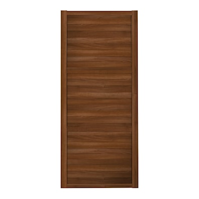Shaker 610mm 3 Panel Walnut Sliding Door and Frame