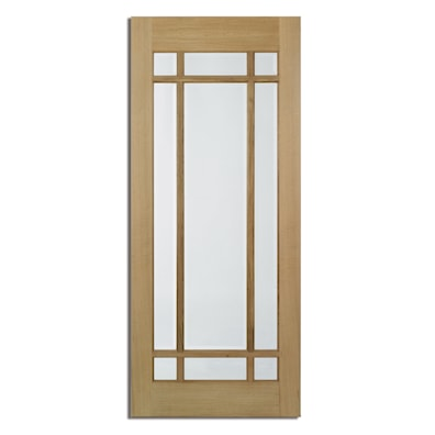 Lyon Oak Glazed Internal Door 1981x838mm