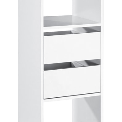 Standard White Interior 2 Drawer Pack