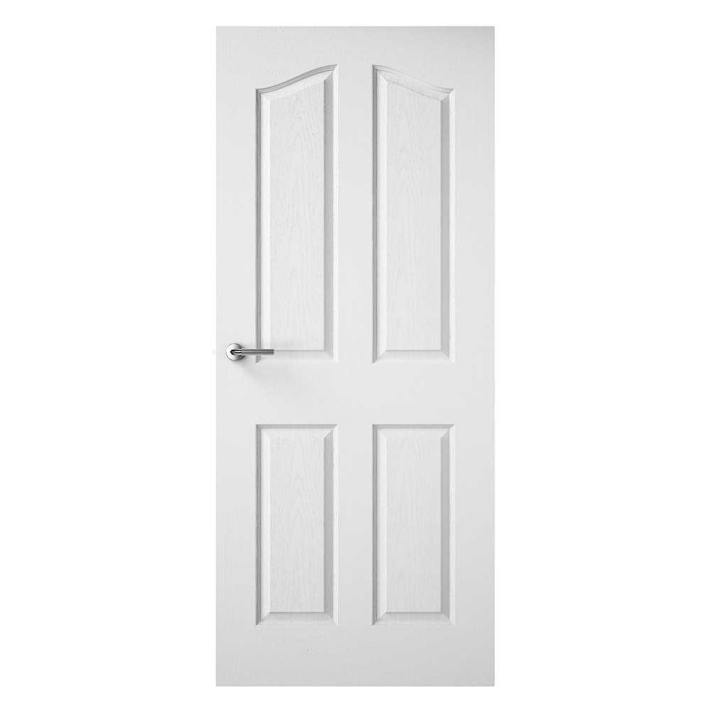 4 panel arch top grained internal door moulded doors for Internal arch