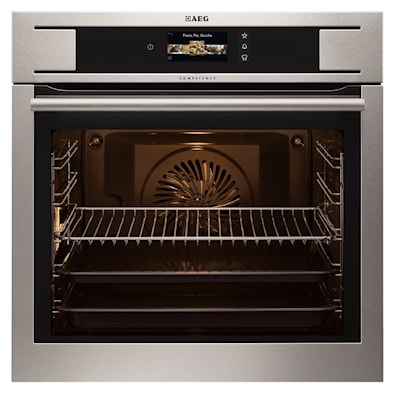 AEG BP831660KM Built-In Electric Single Oven