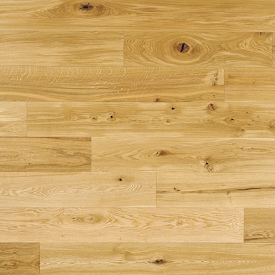 14mm Rustic UV Lacquered Oak Engineered Flooring