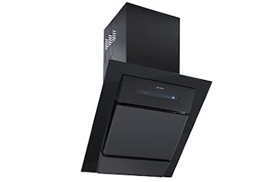 Caple SP611BK 60cm Spirit Chimney Cooker Hood