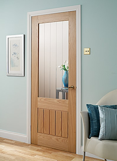 Mexicana Oak Glazed Internal Door 1981x762mm
