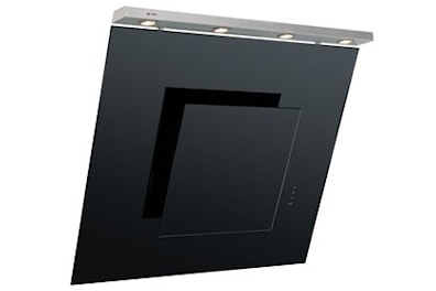 Caple AS911BK 90cm Chimney Cooker Hood