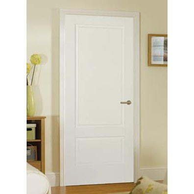 Brooklyn White Primed Internal Door 1981x762mm