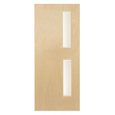 Oak Foil GO9 Glazed Internal Fire Door 1981x838mm