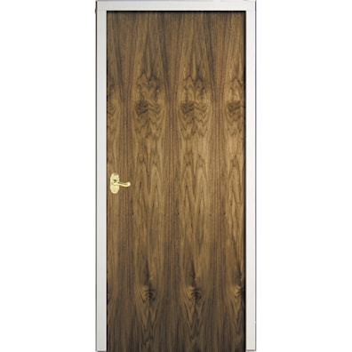 Walnut Flush Veneer Internal Fire Door