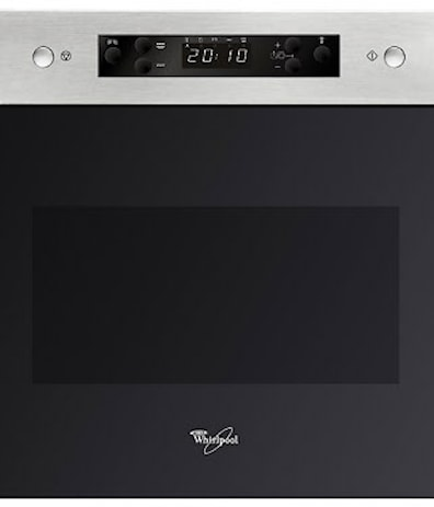 Whirlpool AMW492/1 IX Built-In Microwave & Grill