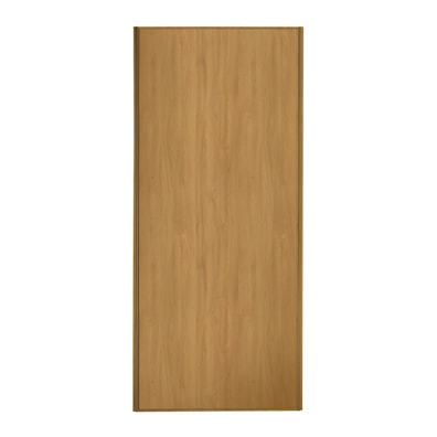 Heritage 762mm 1 Panel Sliding Door with Oak Frame