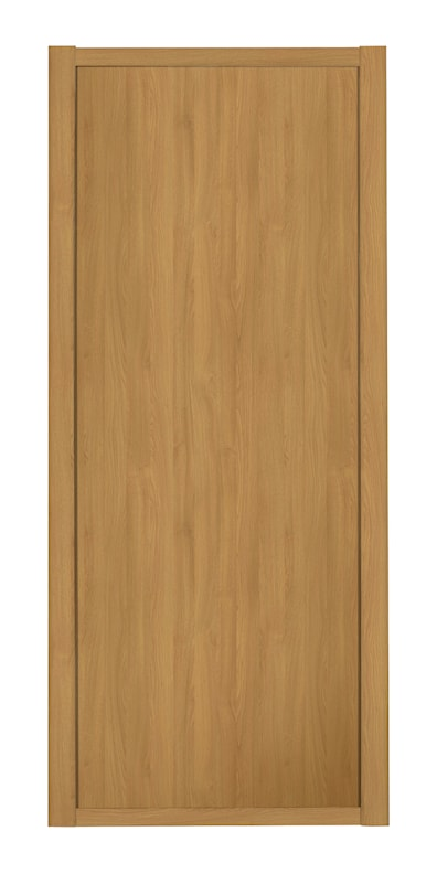 Shaker 914mm 1 Panel Oak Sliding Door and Frame