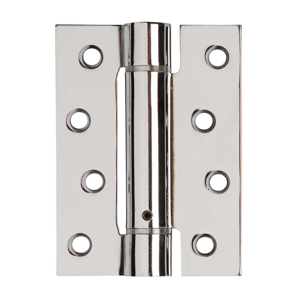 Self Closing Fire Door Hinges Polished Chrome Plated 102 X