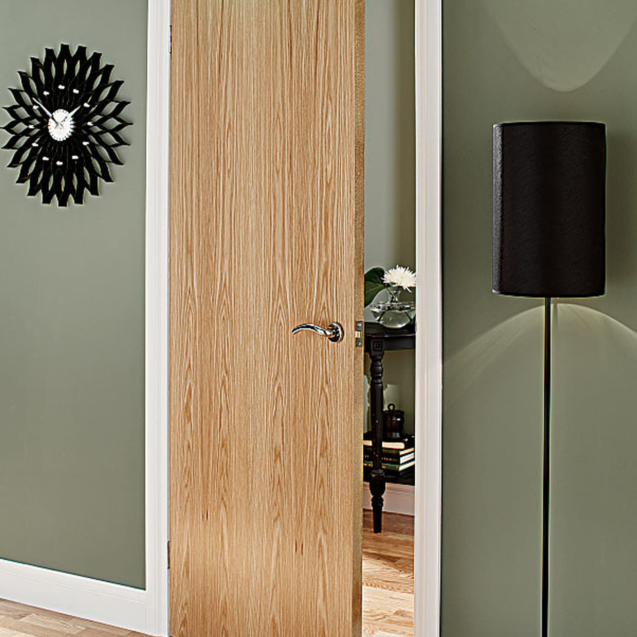 Oak Veneer internal fire door