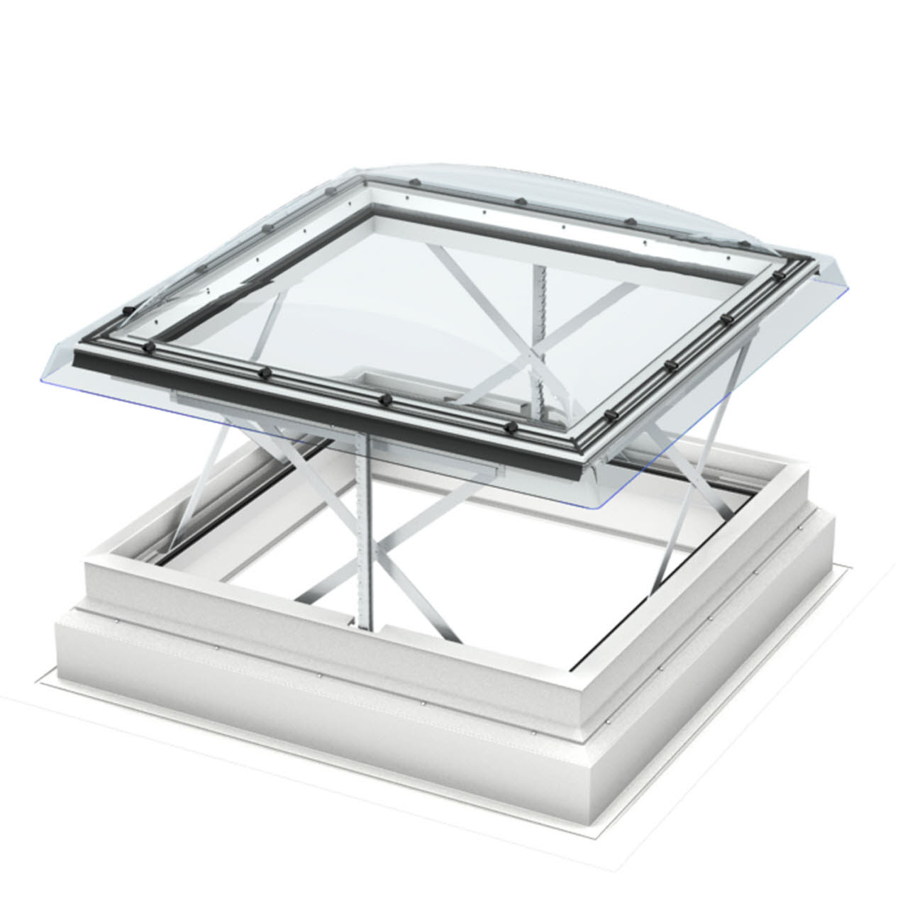 Open Velux Window illustrating smoke ventilation