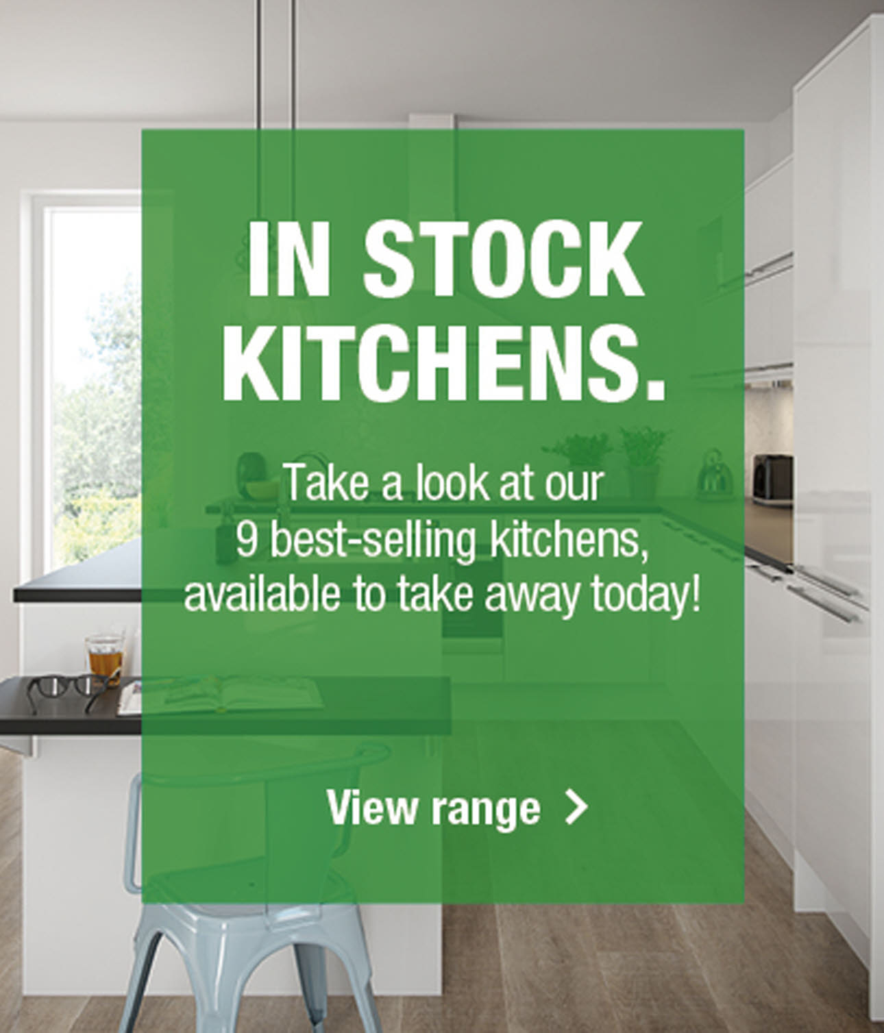 In Stock kitchens