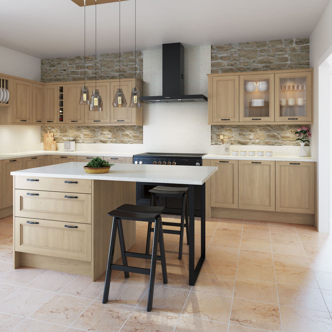 Integra Alpine Graphite Kitchen Style Kitchen Ranges