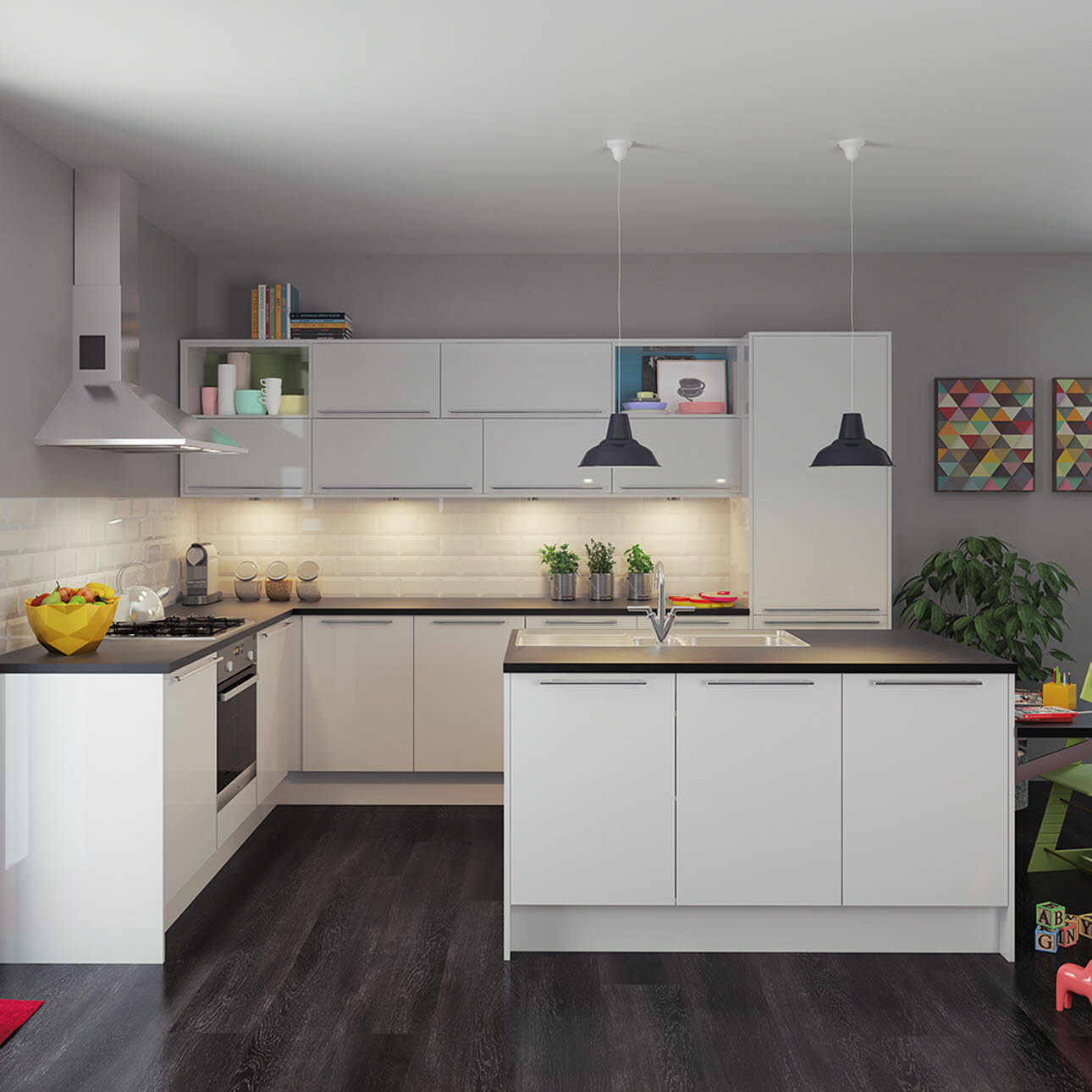 Magnet Kitchens Apollo White