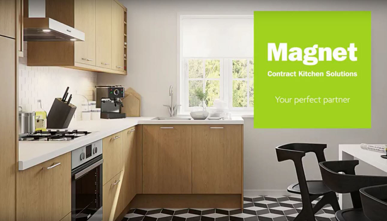 Social housing contract kitchens developers magnet trade for Kitchen design qualifications uk