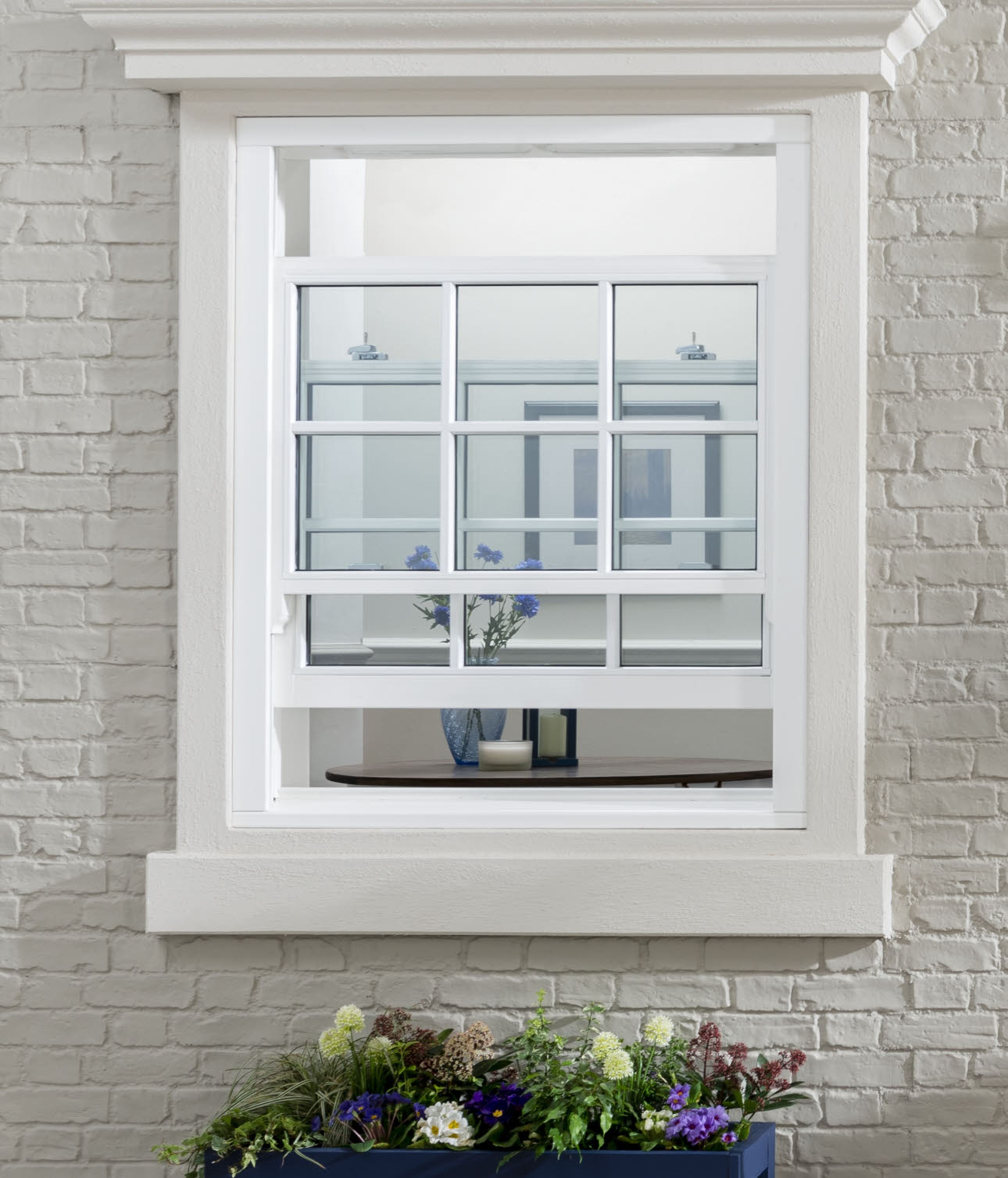 JELD-WEN Sliding Sash all bar Timber Window