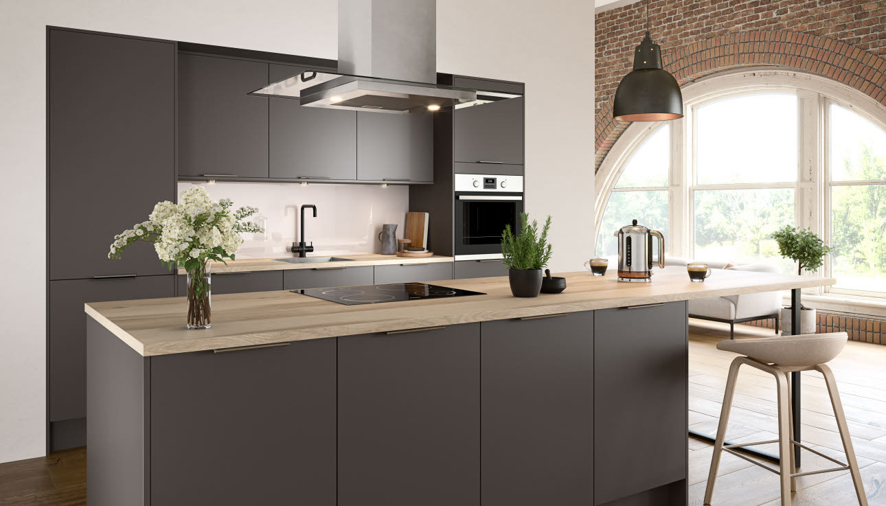 Nova Matt Slate Kitchen Style Kitchens Magnet Trade