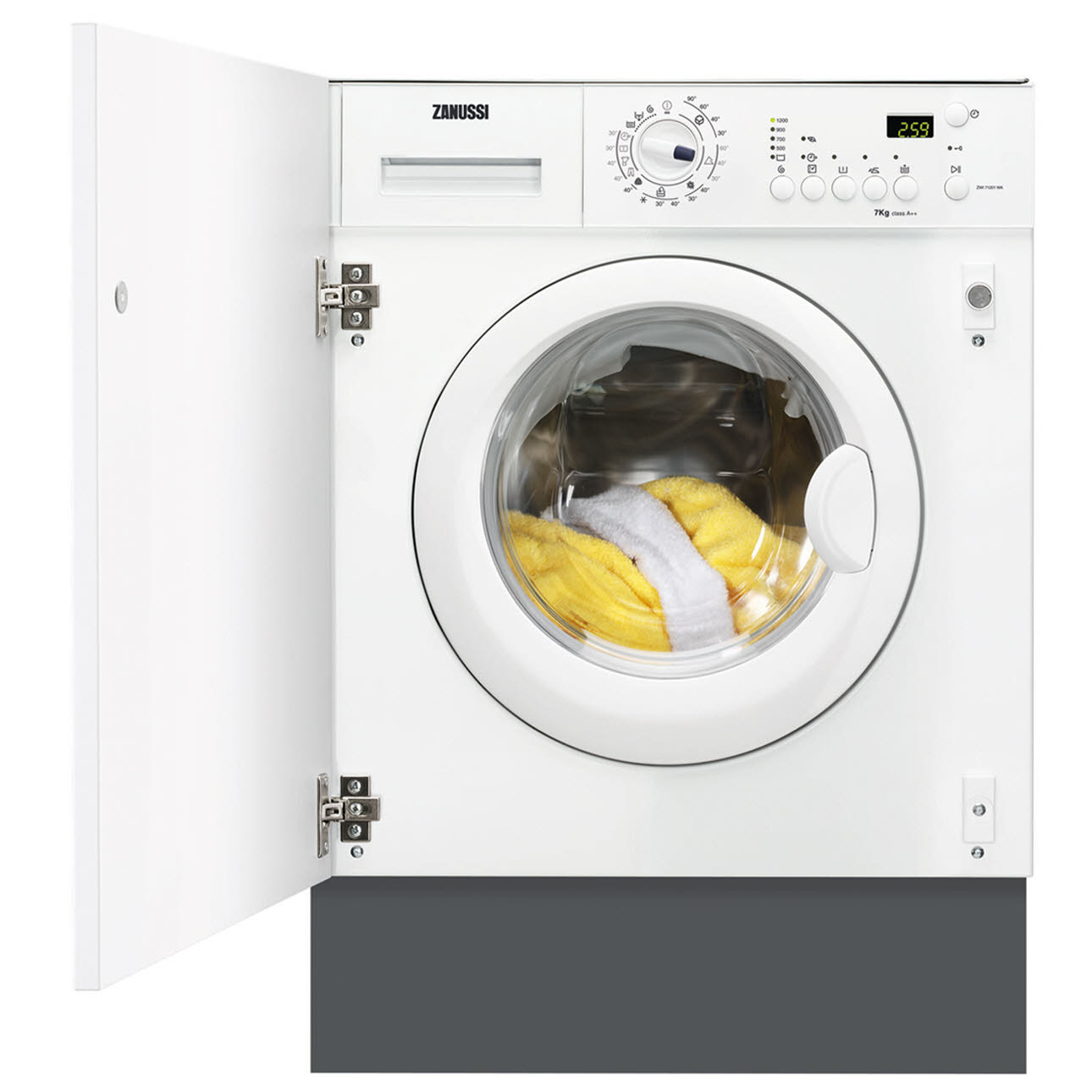 ZANUSSI ZWT71201WA FULLY INT WASHER DRYER Washer Dryer