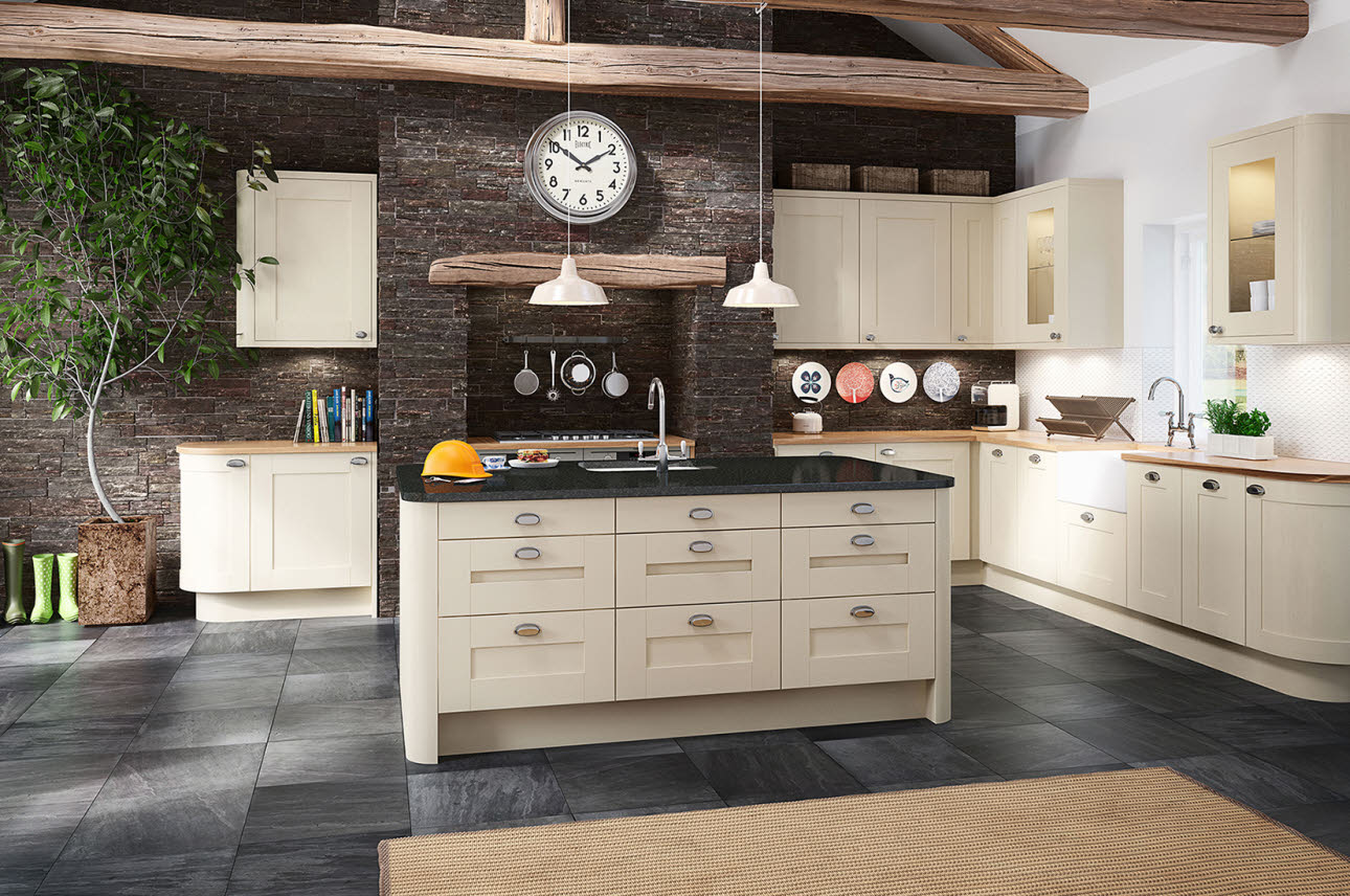 Winchester Cream Magnet Kitchen