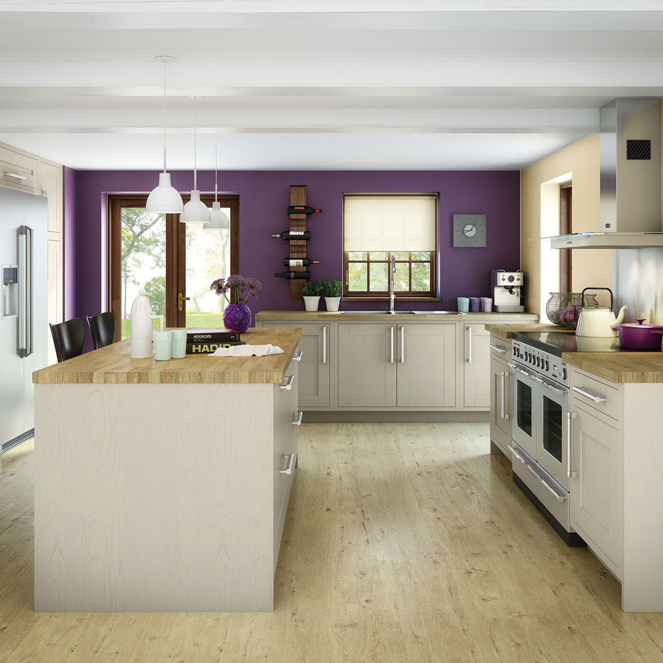 Magnet Kitchens Somerton Sage