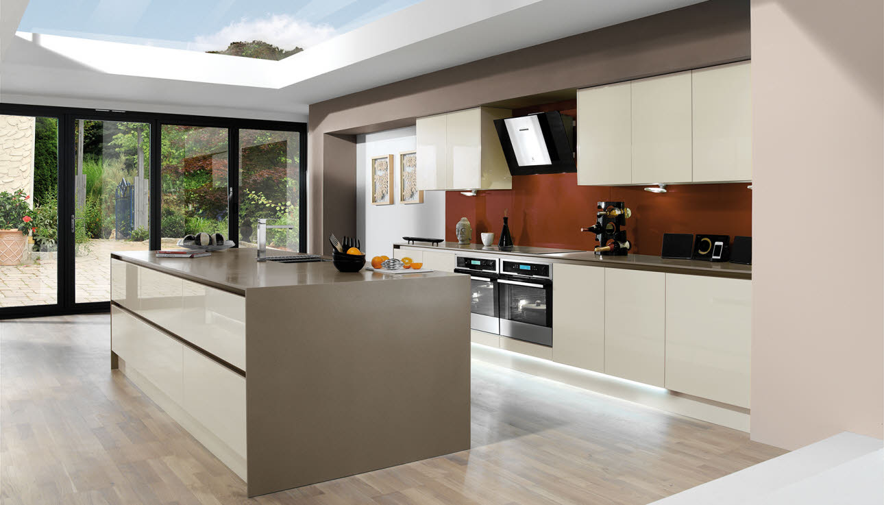 Magnet Kitchens Integra Fusion Cream