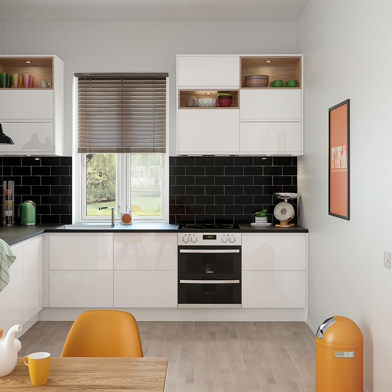 Magnet Kitchens Luna White