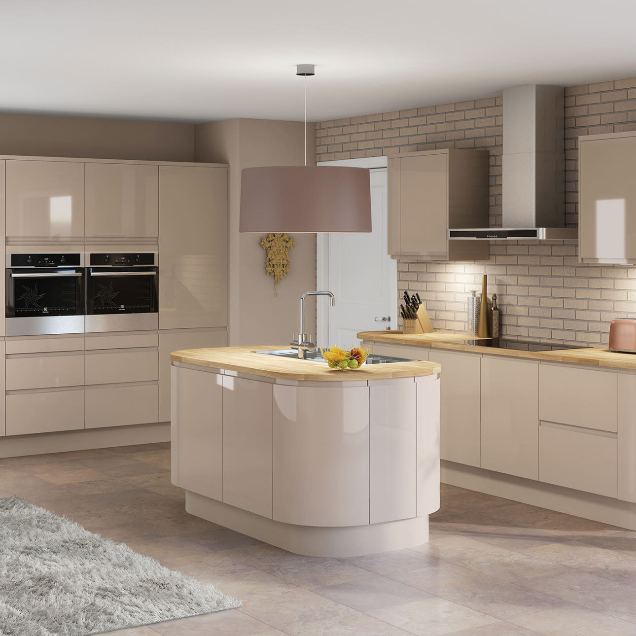 Luna White Kitchen Style Kitchens Magnet Trade