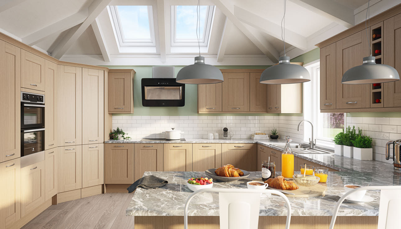Winchester Acacia kitchen