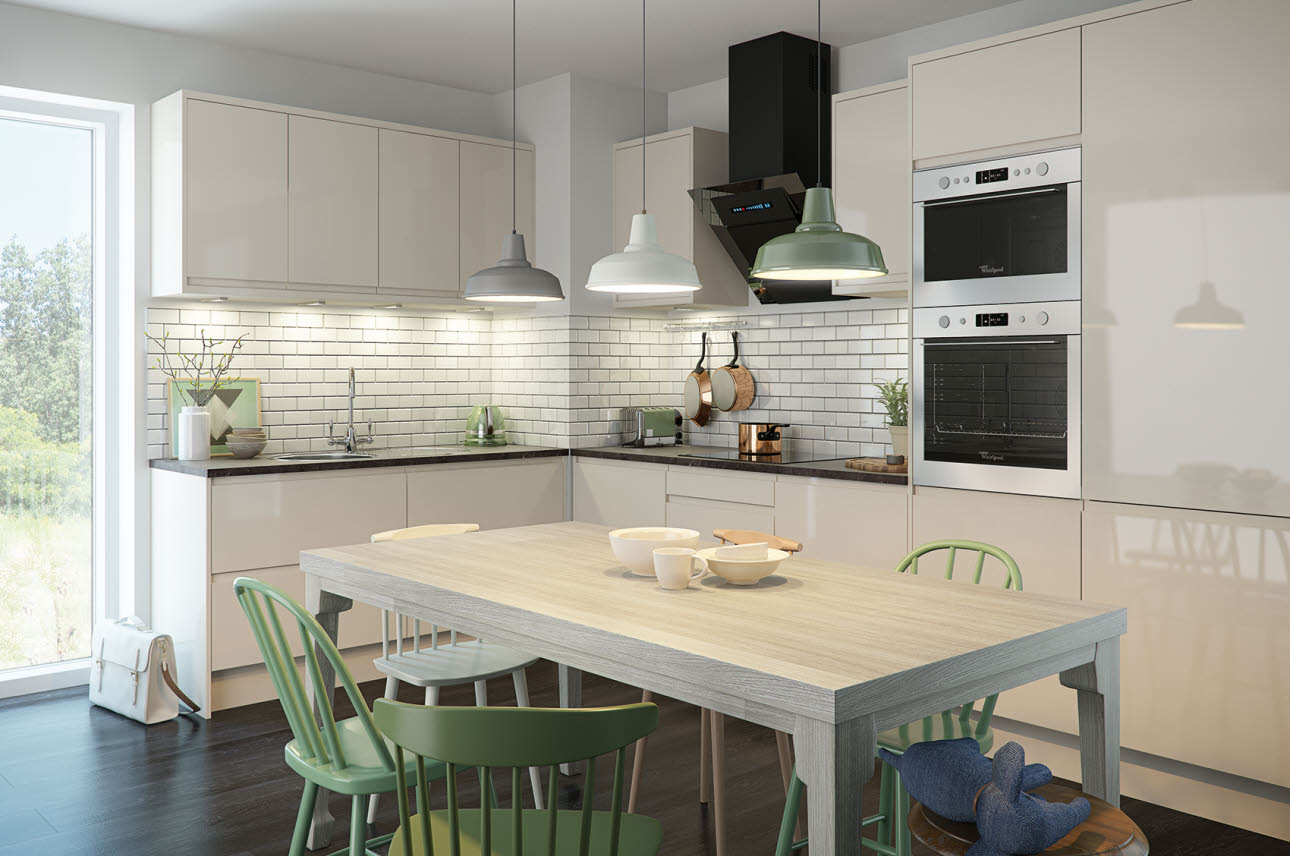 Magnet Kitchens Luna Cream