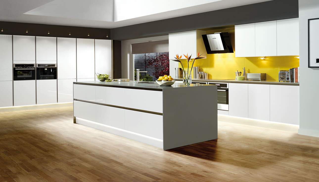 Magnet Kitchens Integra Fusion White