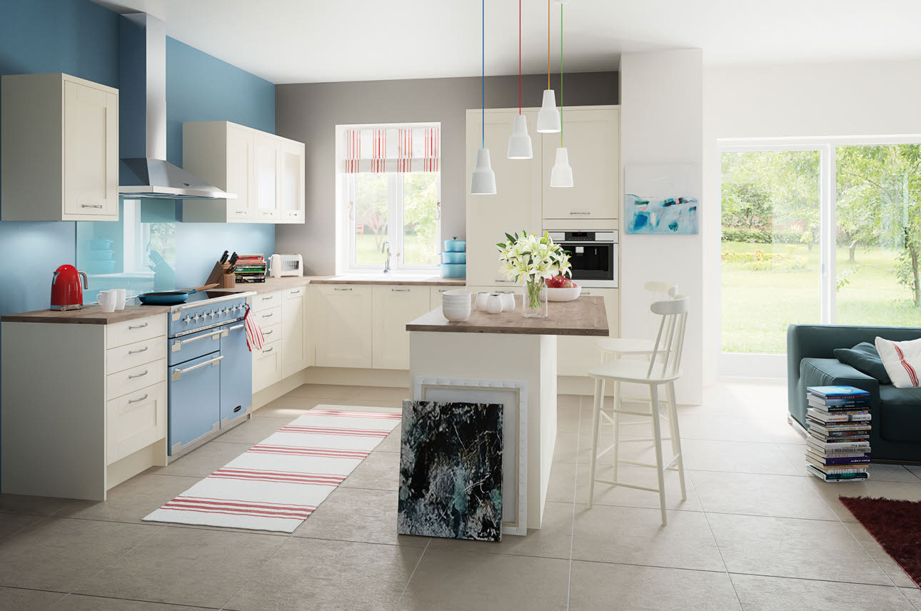 Magnet Kitchens Tatton Cream