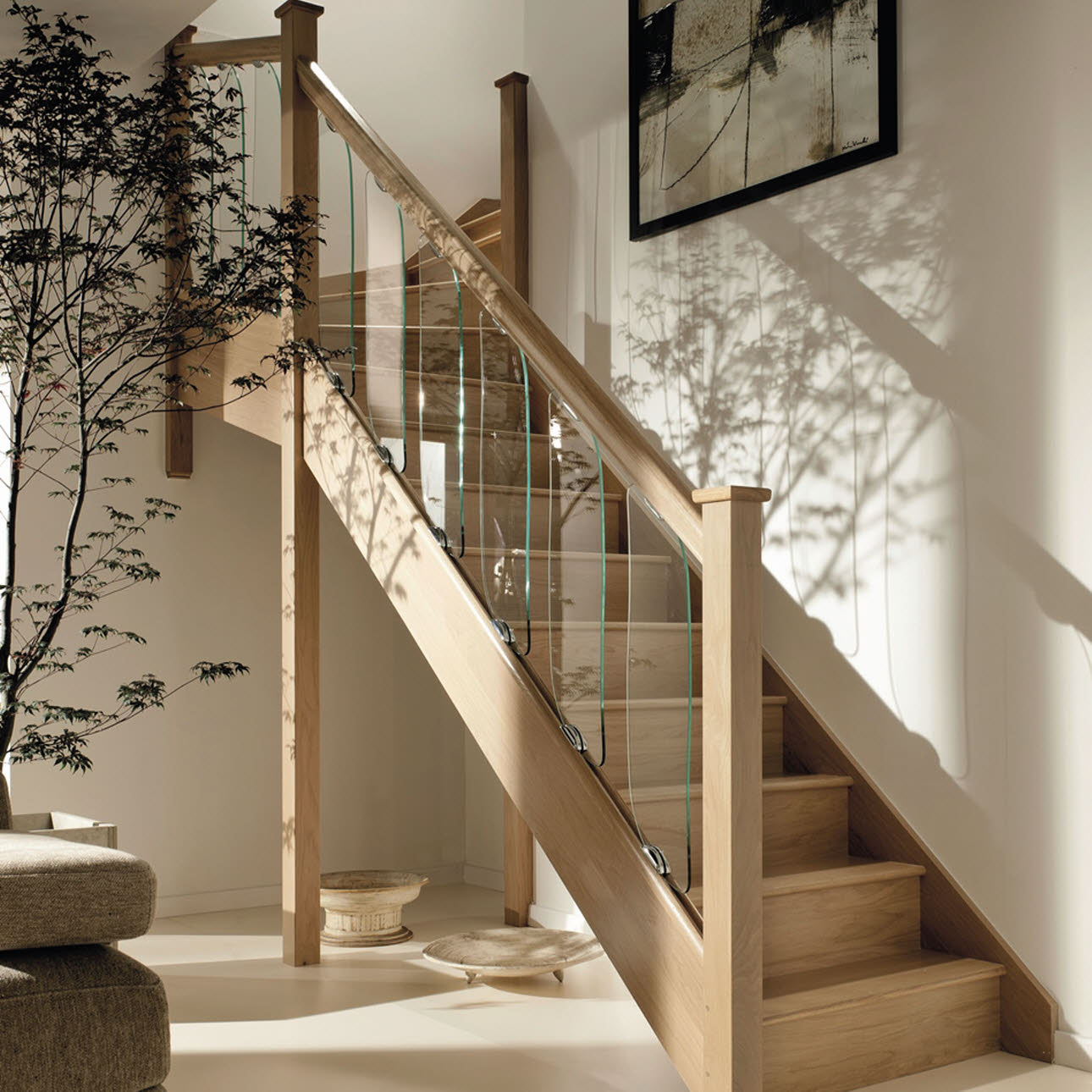 Contemporary Radiance Stairs