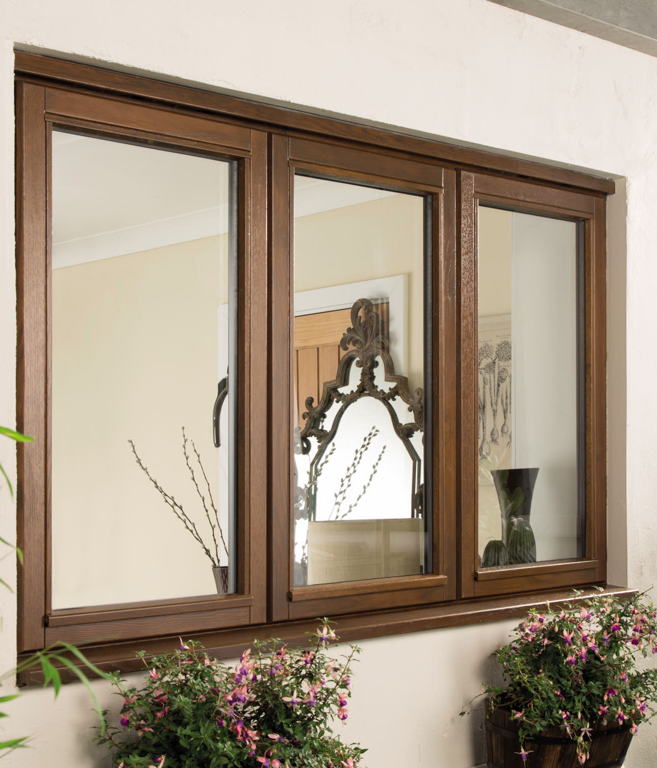 JELD-WEN Oak Casement Timber Window