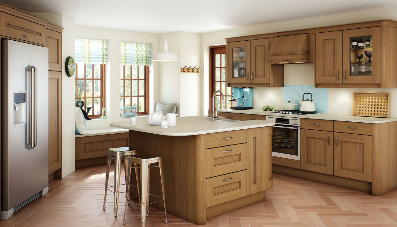Magnet Kitchens Shaker Oak