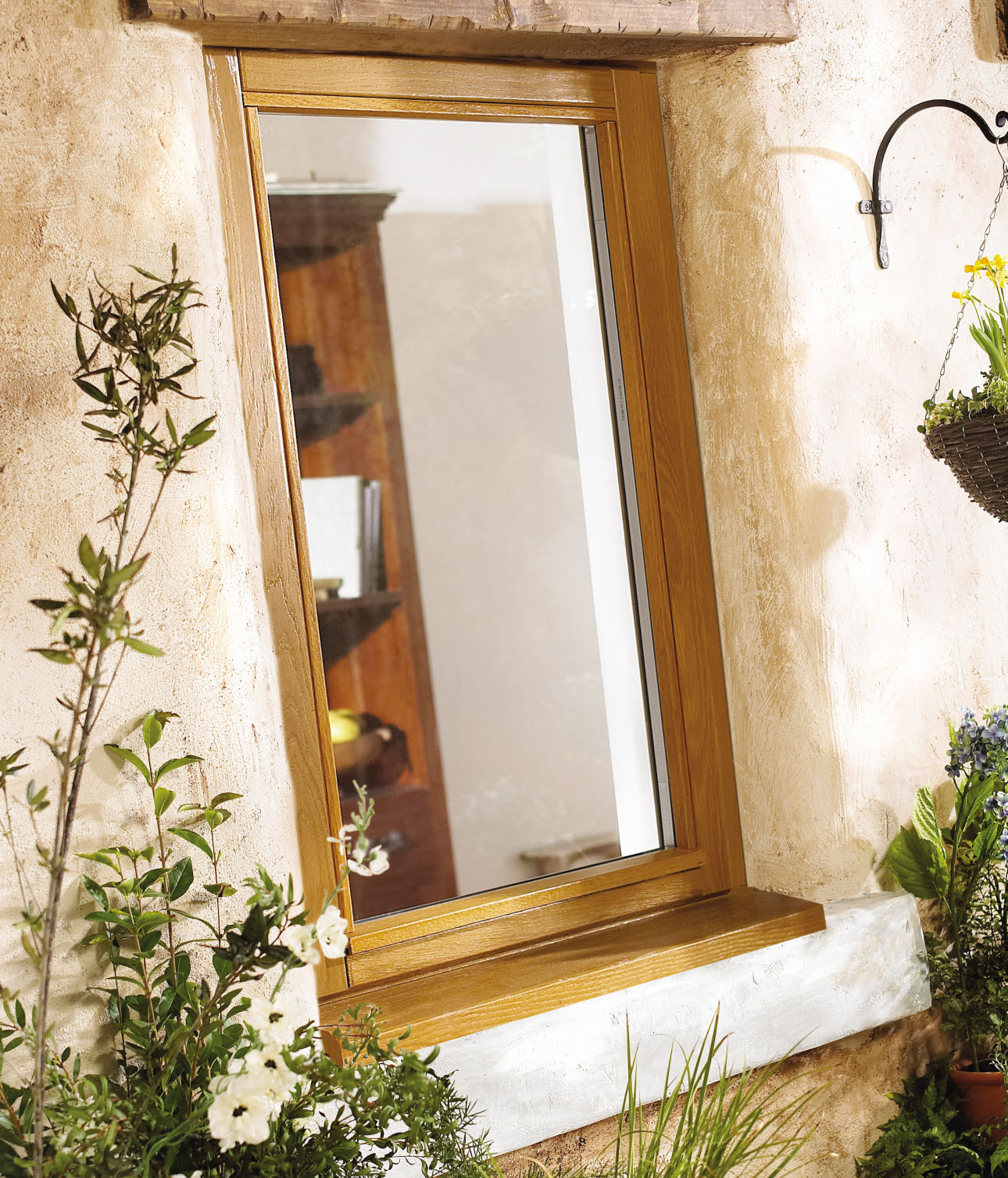 JELD-WEN Oak Casement Stormsure Timber Window