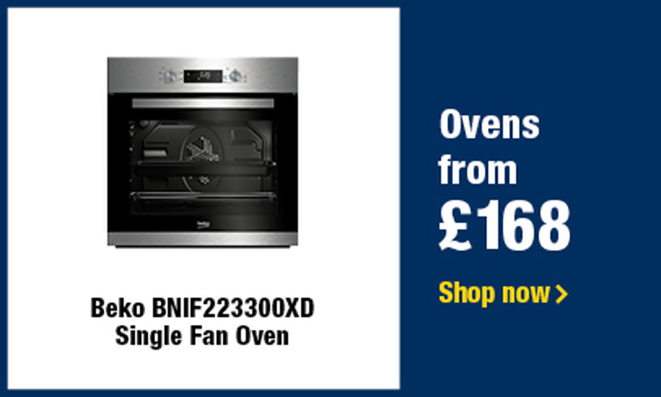 Ovens from £168