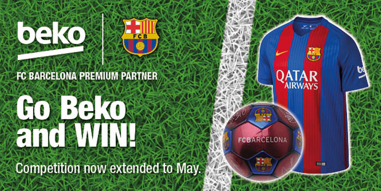 Beko Kitchen FC Barcelona competition logo