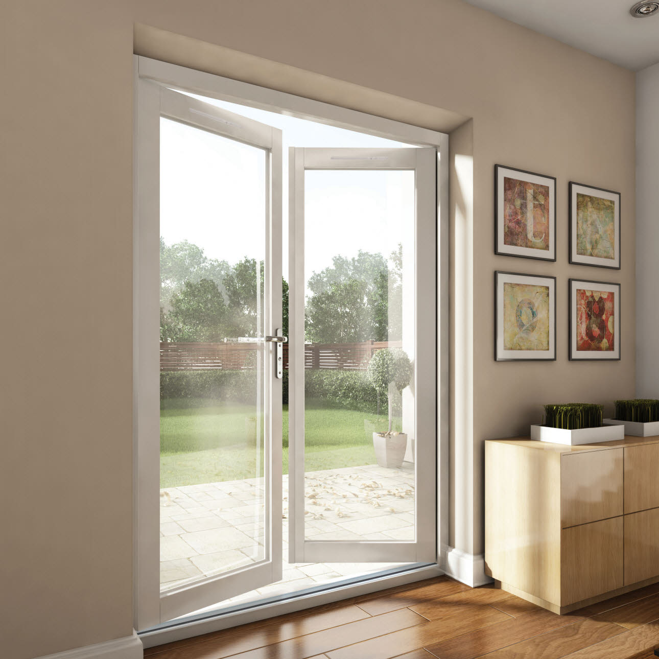 Internal external doors bifold doors magnet trade for External double doors