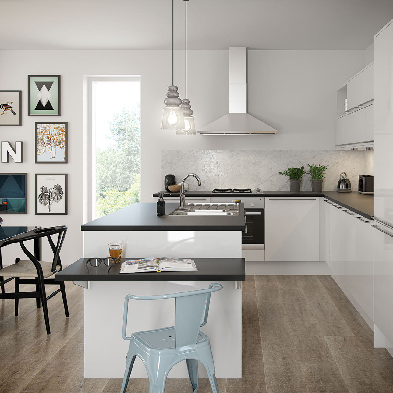 Magnet Kitchens Nova White