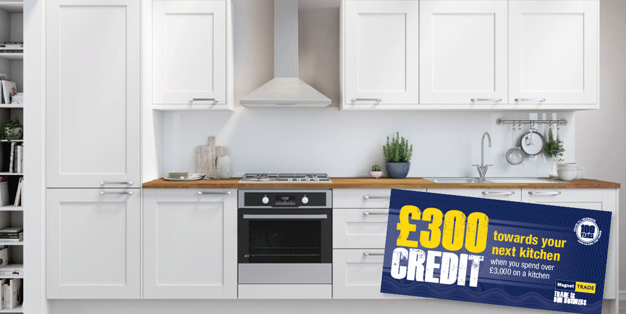 £300 kitchen credits