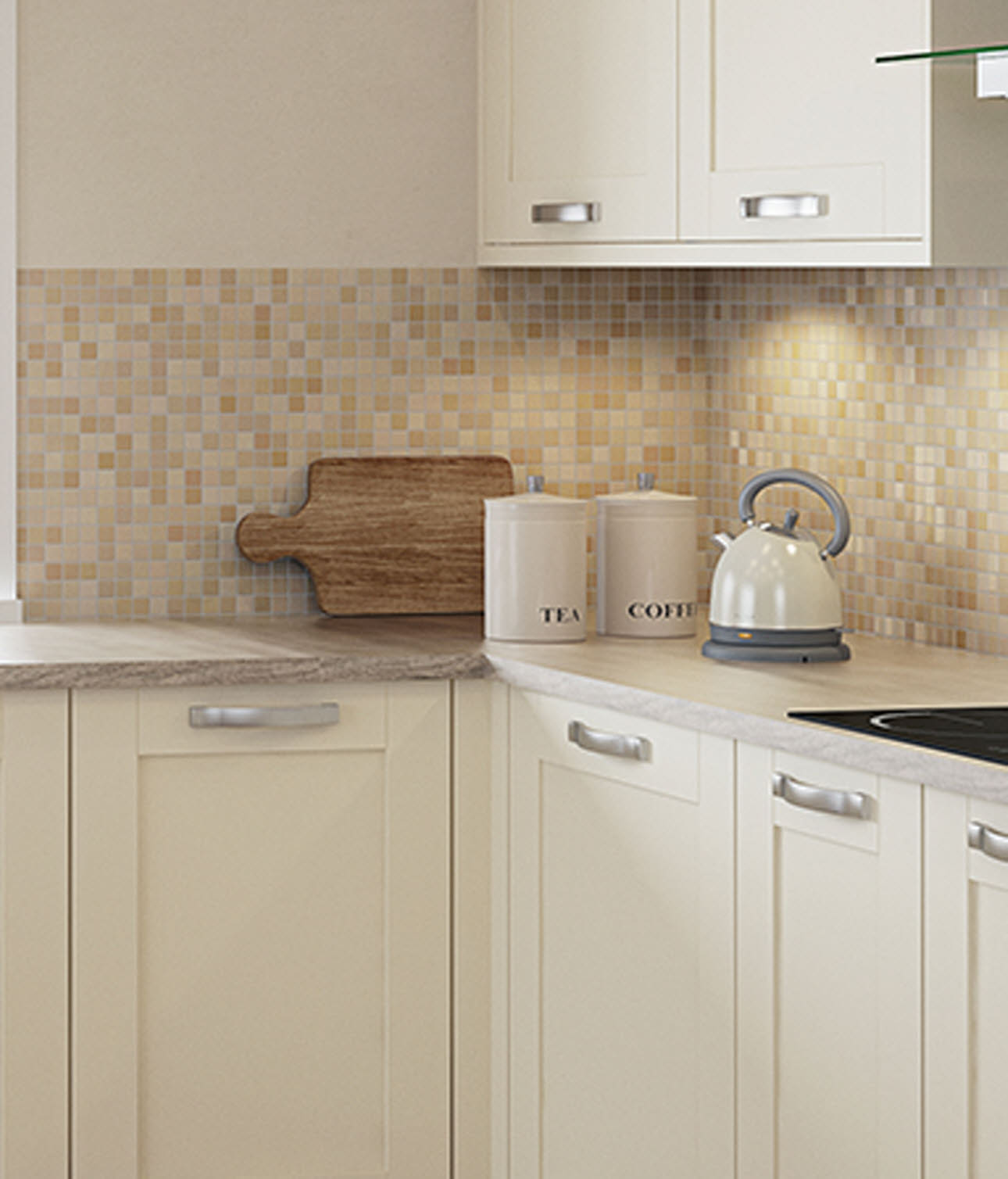 Magnet Kitchens Eton Cream
