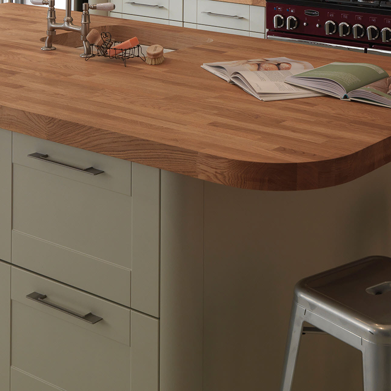 Magnet Bespoke Solid Wood Worktop