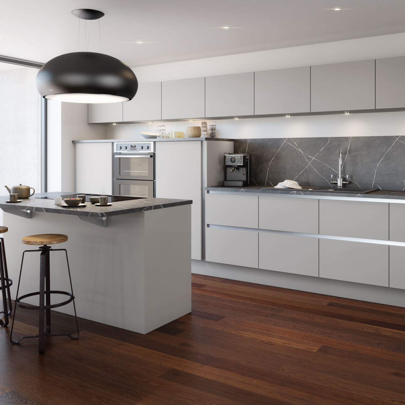 Tatton Grey Kitchen Style Amp Ranges Magnet Trade