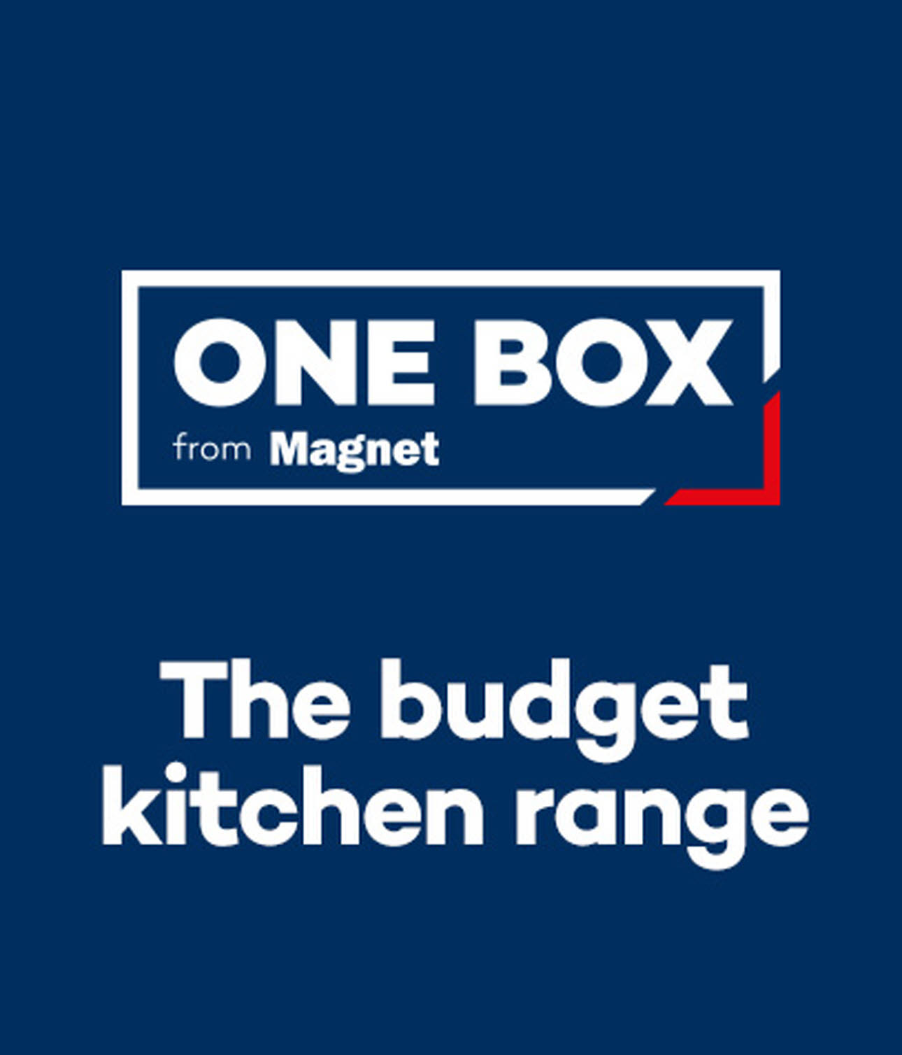 One Box the budget kitchen range