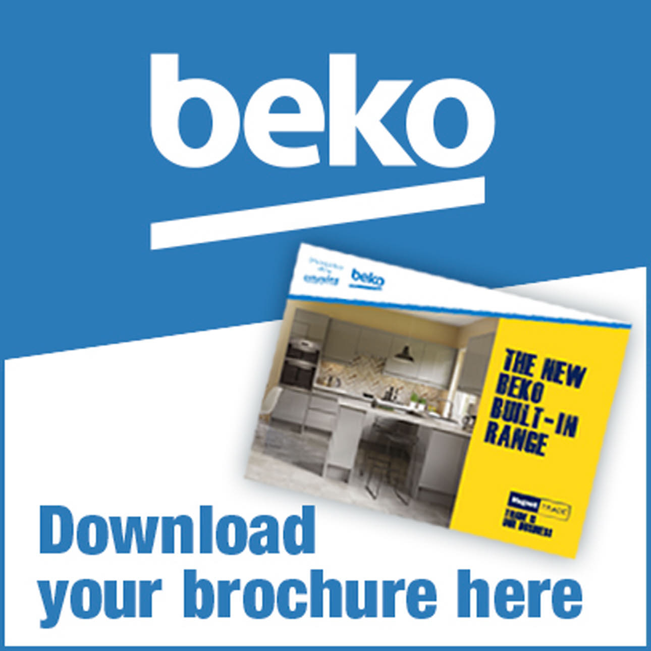 Beko Kitchen Brochure Logo, download your brochure